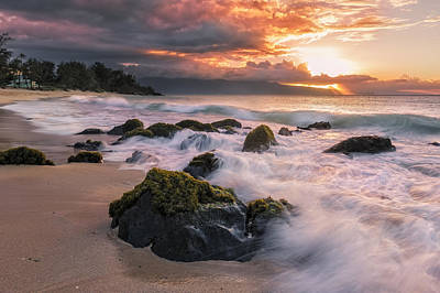 The North Shore Of Maui Art Print by Hawaii  Fine Art Photography