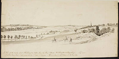 The Northamptonshire Landscape Art Print by British Library