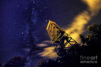 Photograph - The Northern Cross And Summer Triangle by Charline Xia