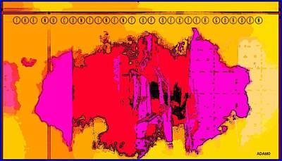 Gorden Digital Art - The Nu Continent Of Dexter Gorden by Tony Adamo
