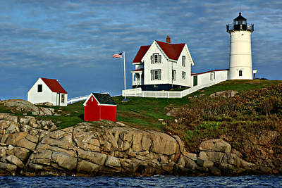 Photograph - The Nubble by Nikolyn McDonald