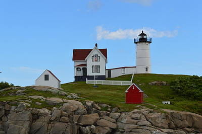 The Nubble Art Print