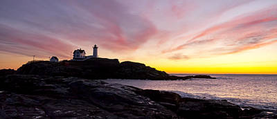 Photograph - The Nubble by Steven Ralser