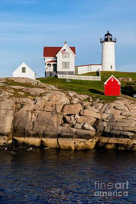 Cape Neddick Light Station Photograph - The Nubble York Maine by Dawna  Moore Photography