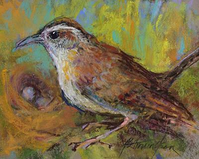 Pastel - The Nurturer by Beverly Amundson