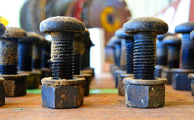 Photograph - The Nuts And Bolts by Holly Blunkall