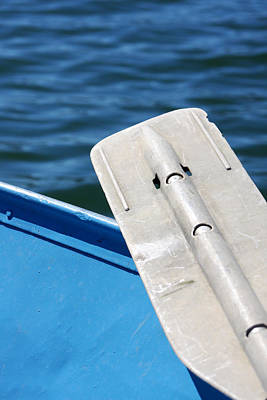 Morro Bay Ca Photograph - The Oar by Art Block Collections