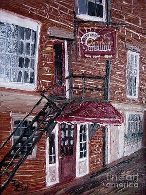 Painting - The Oar House by Francois Lamothe