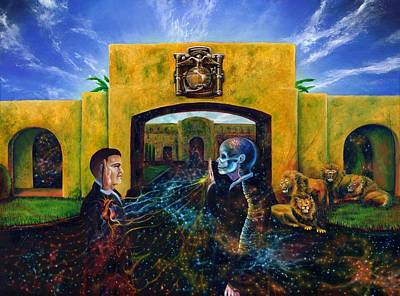 Visionary Artist Painting - The Oath by Kd Neeley