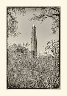 Photograph - The Obelisk II by Marianne Campolongo