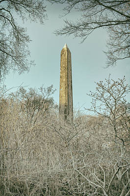 Photograph - The Obelisk by Marianne Campolongo