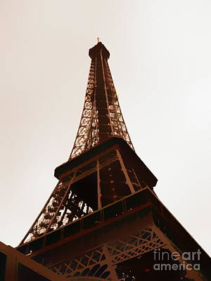Photograph -  Eiffel Tower by A K Dayton