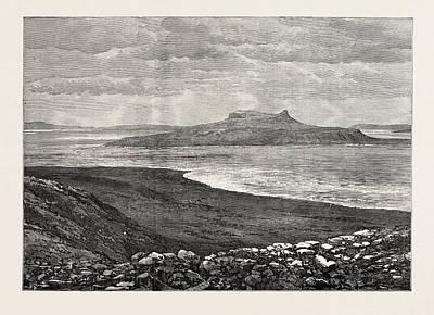 The Ocean Depth Exploring Voyage Grave Island Print by English School