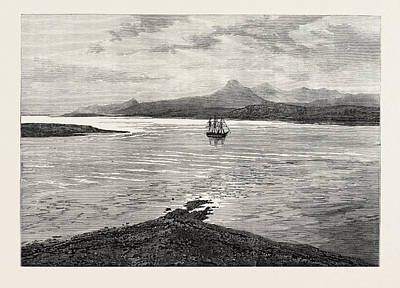 The Ocean Depth Exploring Voyage H.m.s Print by English School