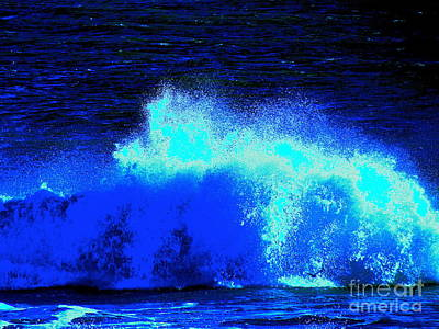 The Ocean Knows Art Print by Q's House of Art ArtandFinePhotography