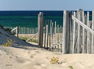 The Oceans Gate Art Print by Michelle Wiarda