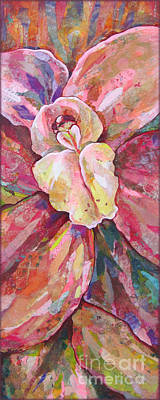 Orchid Art Painting - The Orchid by Shadia Derbyshire