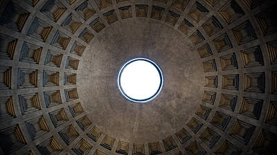 Photograph - The Oculus Of The Roman Pantheon by Weston Westmoreland