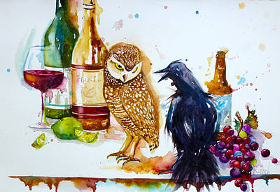 Painting - The Odd Couple by Patricia Ragone