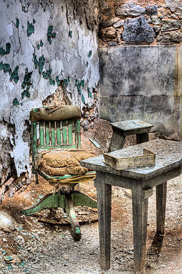 Eastern State Penitentiary Wall Art - Photograph - The Office by JC Findley