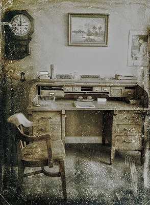 The Office  Art Print by Empty Wall