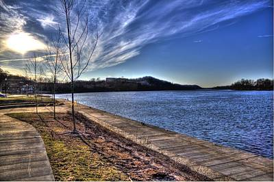Parkersburg Wv Photograph - The Ohio River by Jonny D