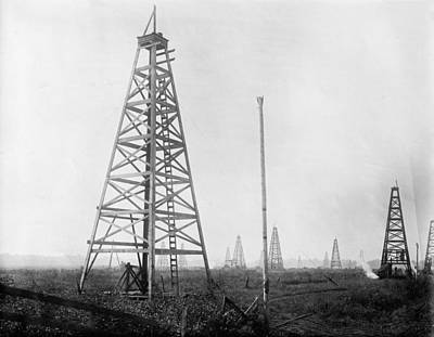 Texas Photograph - The Oil Fields Of Texas by Bill Cannon