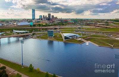 Okc Photograph - The Oklahoma River by Cooper Ross