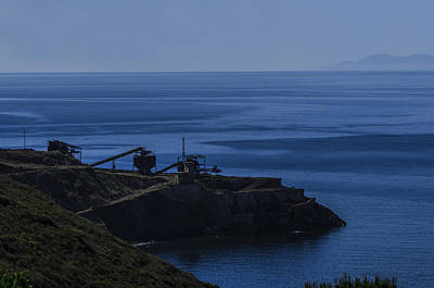 Photograph - The Old Abandoned Mine On The Sea by Enrico Pelos