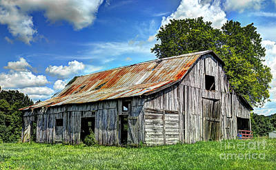 Photograph - The Old Adkisson Barn by Paul Mashburn