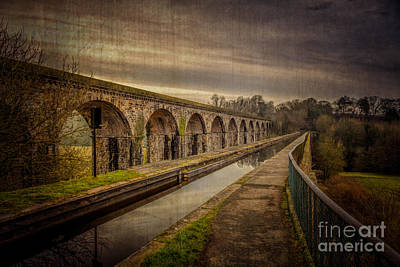 Victorian Digital Art - The Old Aqueduct by Adrian Evans