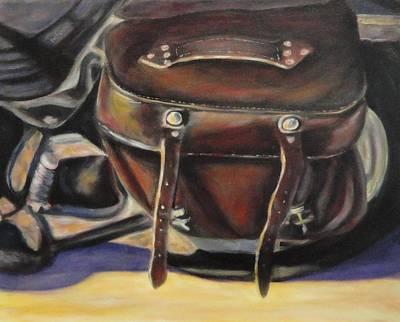 Painting - The Old Bag by Shannon Grissom