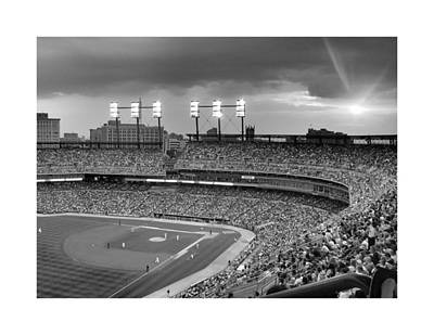 Photograph - The Old Ballgame by Charles Owens