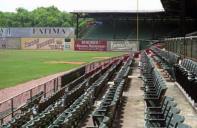 Photograph - The Old Ballpark 2 by Frank Romeo
