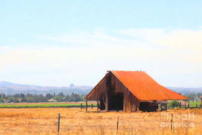The Old Barn 5d24404 Art Print by Wingsdomain Art and Photography