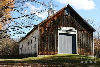 Photograph - The Old Barn by Barbara Bardzik