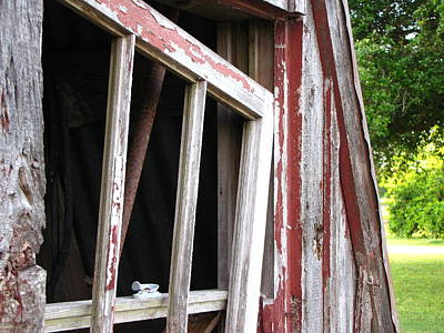 Art Print featuring the photograph The Old Barn by Beth Vincent