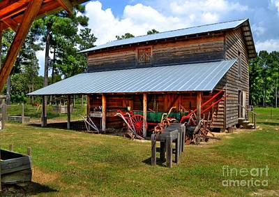 Photograph - The Old Barn by Kathy Baccari