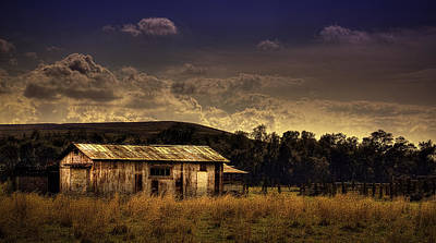 The Old Barn Art Print by Marvin Spates