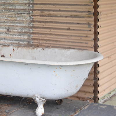 Photograph - The Old Bathtub by Cheryl Miller