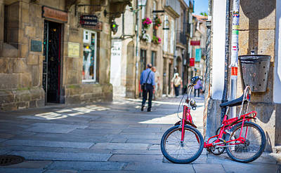 Photograph - The Old Bike by Gary Gillette