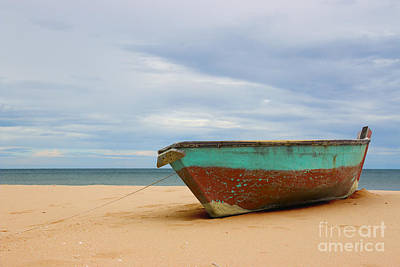 Photograph - The Old Boat At Ban Krut Beach by Nola Lee Kelsey