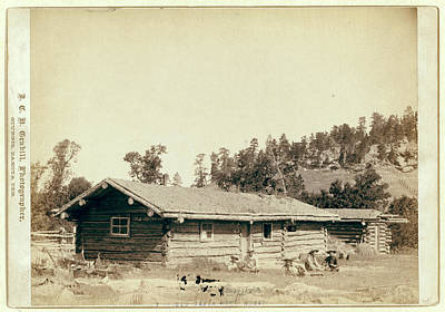 The Old Cabin Home Art Print