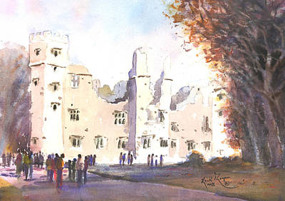The Old Castle Mallow County Cork Art Print