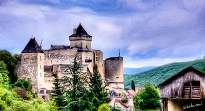 Photograph - The Old Cathar Stronghold by Weston Westmoreland