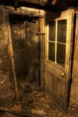 The Old Cellar Door Art Print by Dan Stone