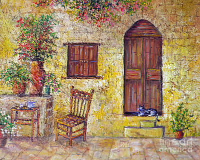 Painting - The Old Chair by Lou Ann Bagnall