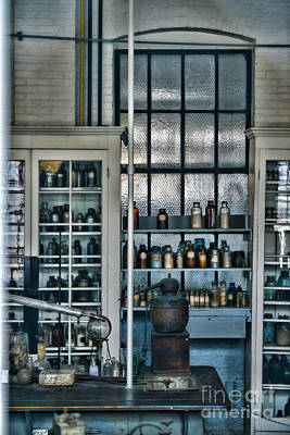 Pharmacist Photograph - The Old Chemistry Lab by Paul Ward
