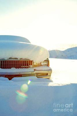 The Old Chevy Print by Alanna DPhoto