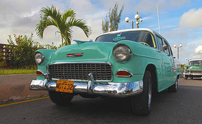 The Old Chevy Still Young Art Print